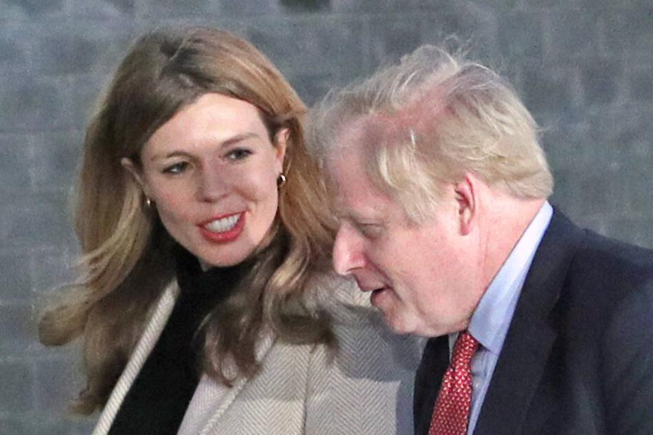 Brexit-Vater Boris Johnson und seine Freundin Carrie Symonds werden bald Eltern.