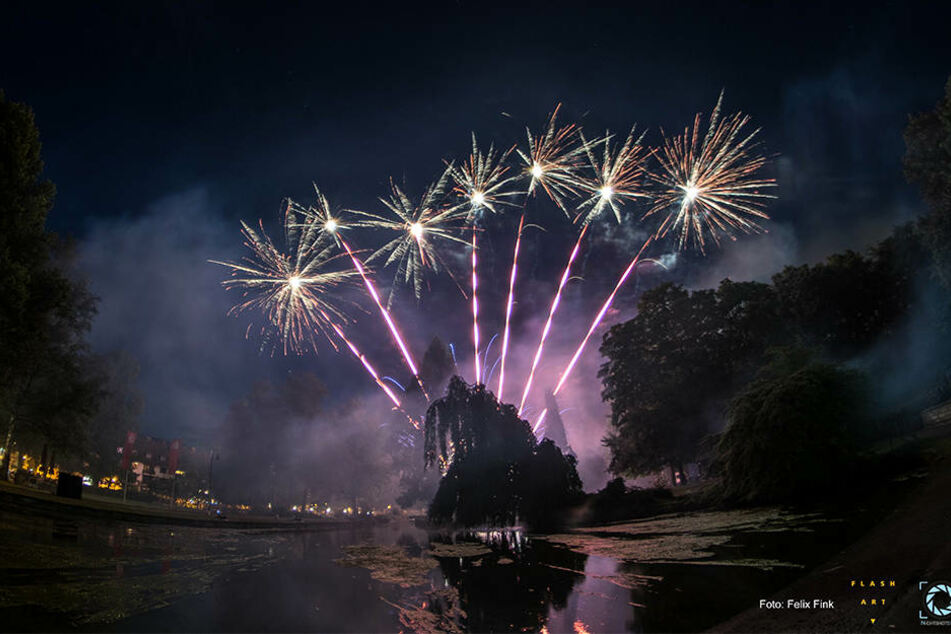 Dieses Jahr wird das Feuerwerk noch beeindruckend.
