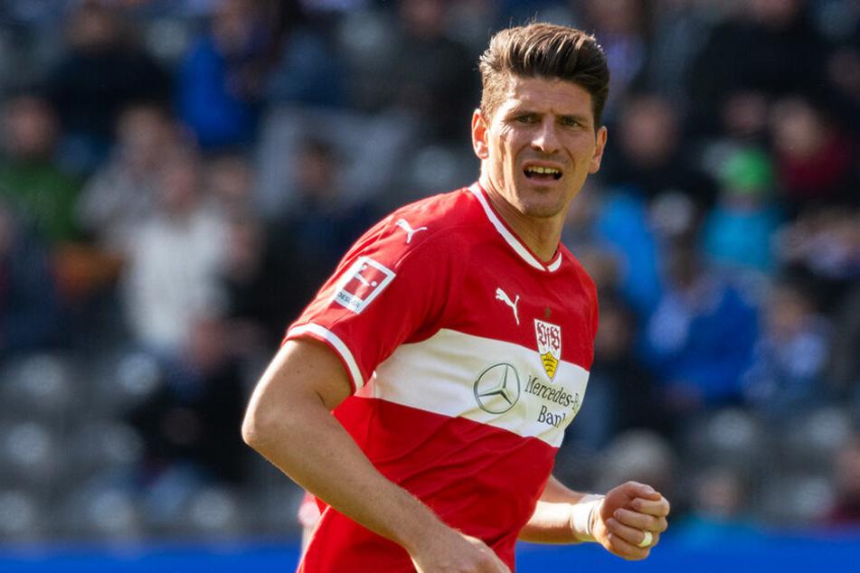 Mario Gomez brachte den VfB Stuttgart mit 1:0 in Führung. (Archivbild)