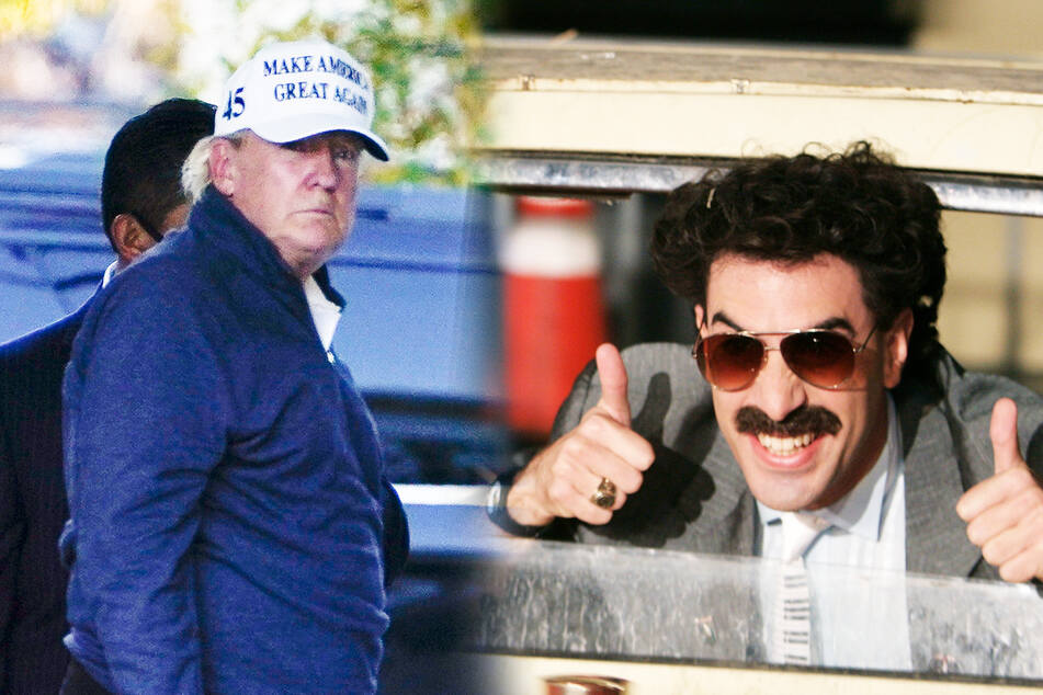Donald Trump sollte nach Amtszeit bei Borat arbeiten, doch plötzlich ist das Angebot vom Tisch!
