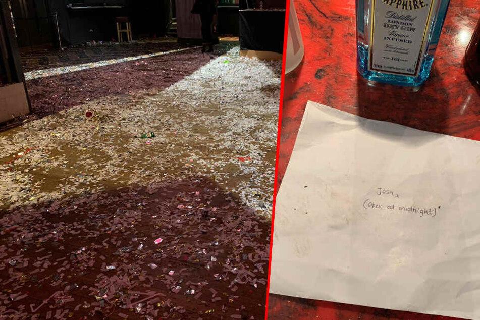 Nach Party: Putzfrauen finden diesen Brief in Diskothek