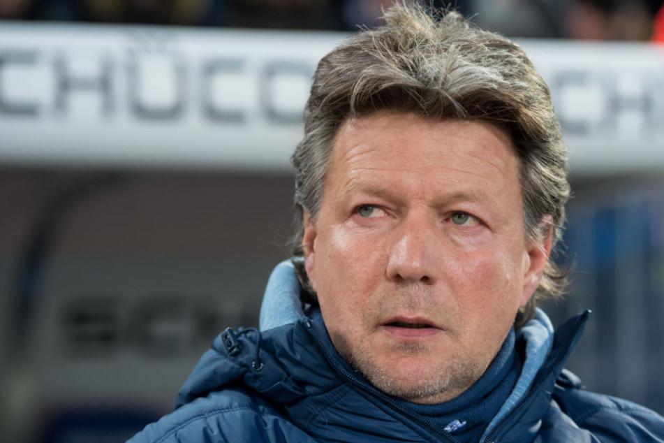 Arminen-Trainer Jeff Saibene (49) würde gerne bei seinem Verein bleiben.
