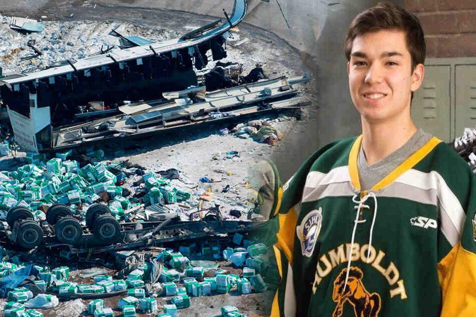 Logan Boulet und 14 weitere teils Jugendliche Spieler starben bei dem Unglück.