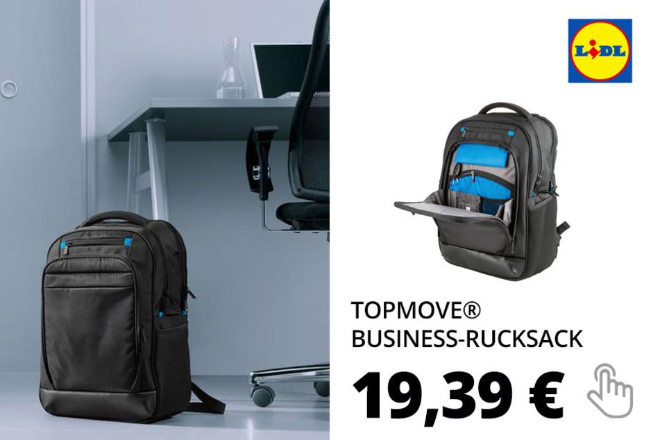 TOPMOVE® Business-Rucksack mit Sicherheitsausstattung