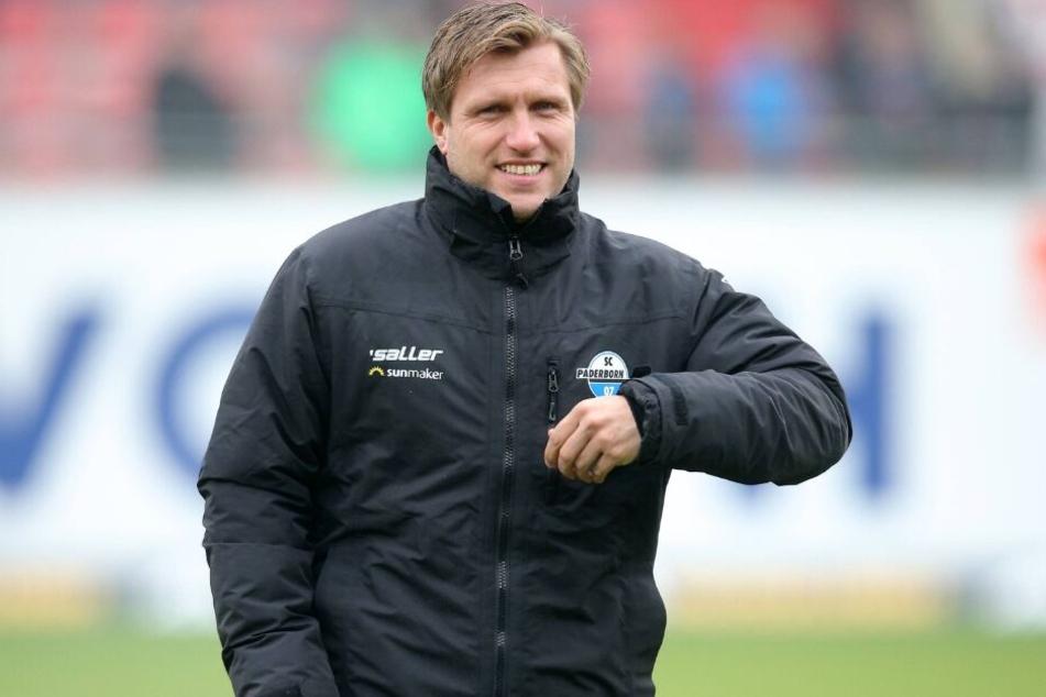Manager Markus Krösche ist froh, das Leopold Zingerle bleibt.
