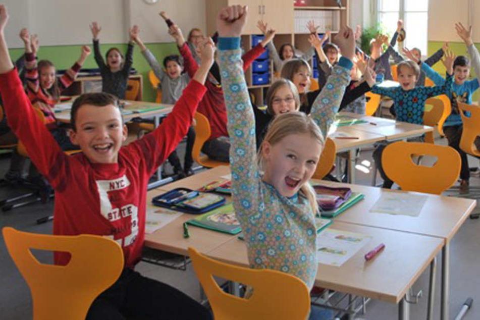 Diese Viertklässler können auch ab September in der Melli-Beese-Grundschule weiterlernen.