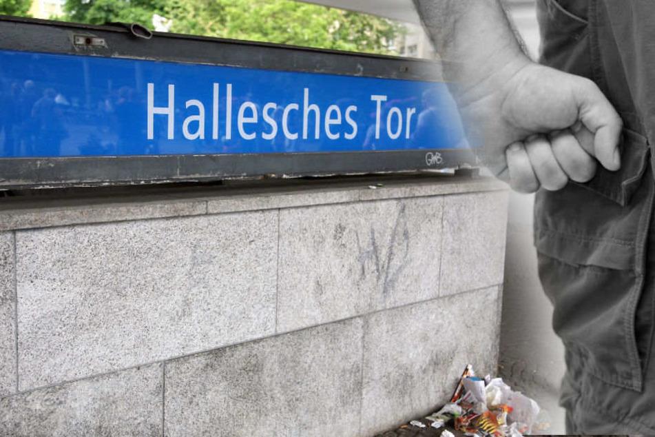Mann am Halleschen Tor bewusstlos geprügelt