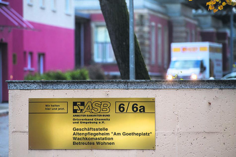 """70 infizierte Bewohner und Mitarbeiter im ASB-Pflegeheim """"Am Goetheplatz"""": Bisher gibt es nur leichte Krankheitsbilder."""