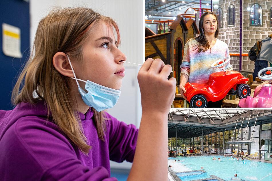 Wie komme ich mit meinem Kind ins Schwimmbad? Test-Wirrwarr zum Ferienstart