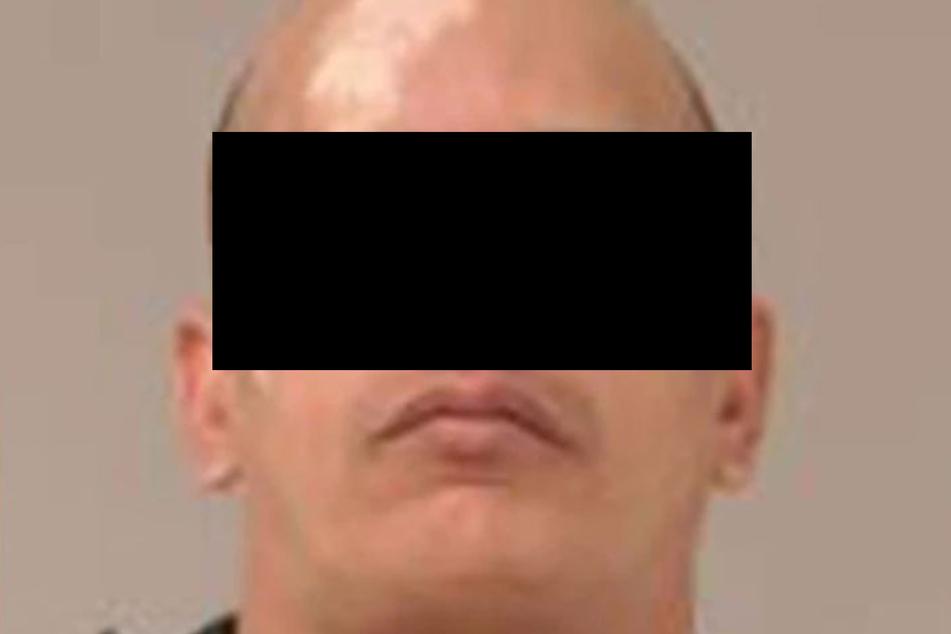 Der mutmaßliche Mörder, Alexis S. (42), auf einem Polizeifoto.