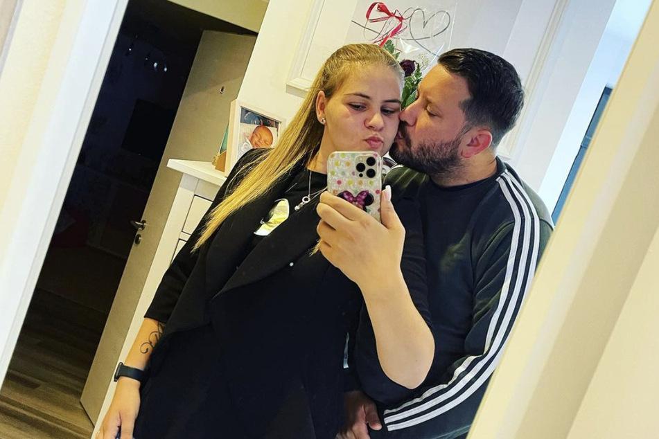 Sylvana Wollny (29) und Florian Köster (33) sind seit zehn Jahren ein Paar.