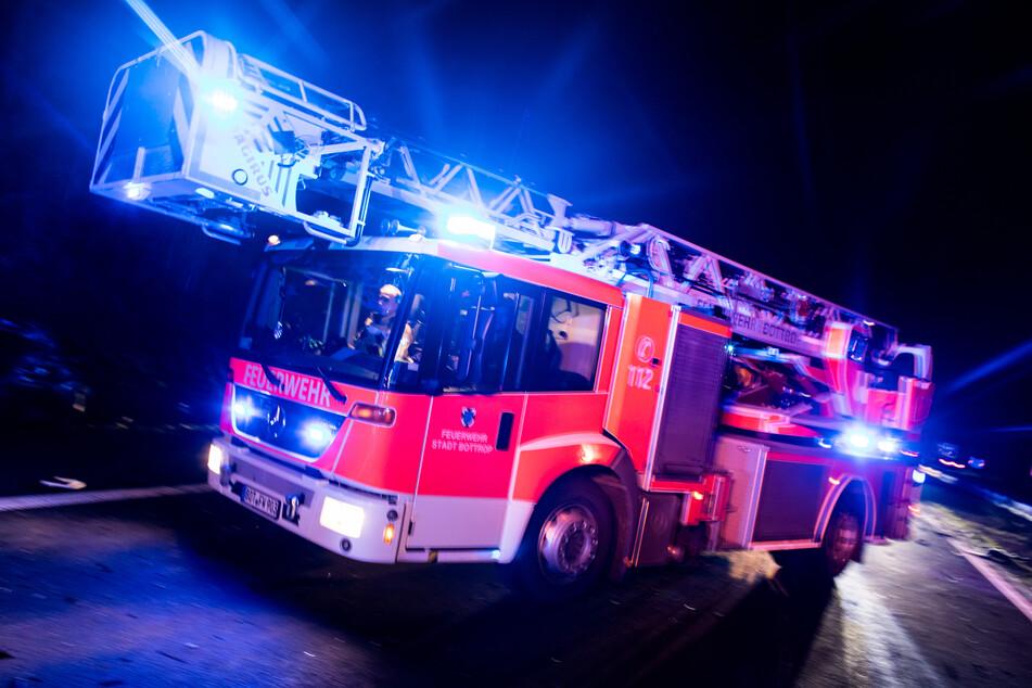 Ein 38 Jahre alter Mann wurde bei einem Wohnungsbrand in Leipzig schwer verletzt. (Symbolbild)