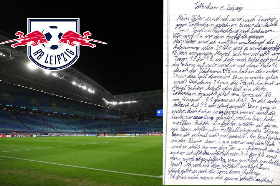 """RB-Fanbrief eines Schülers spricht vielen aus der Seele:""""Freue mich, wenn die ganze Scheiße aufhört"""""""