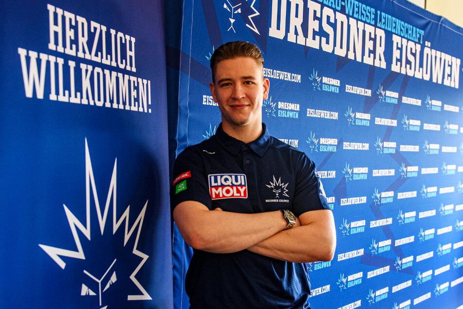 Timo Walther (23) wurde offiziell als Neuzugang vorgestellt. Er unterschrieb für ein Jahr in Dresden.