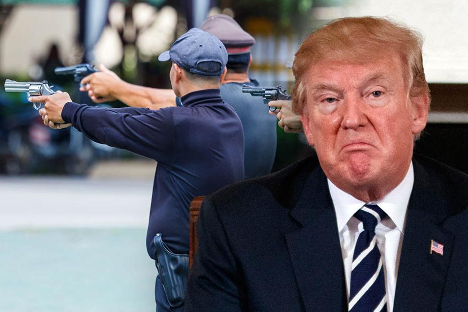 Trump will Waffenproblem mit noch mehr Waffen lösen