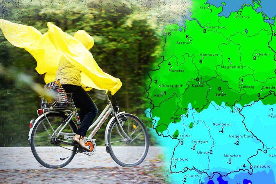 Frostiger Frühlingsanfang im Süden! Wetter teilt Deutschland in zwei Hälften