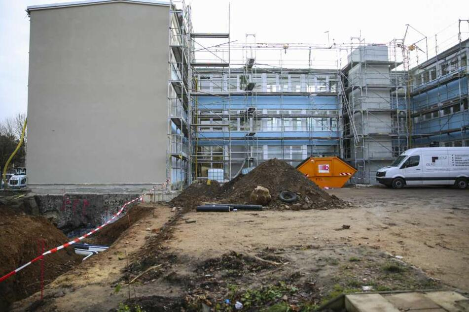 Die Sanierung soll im Februar abgeschlossen sein.
