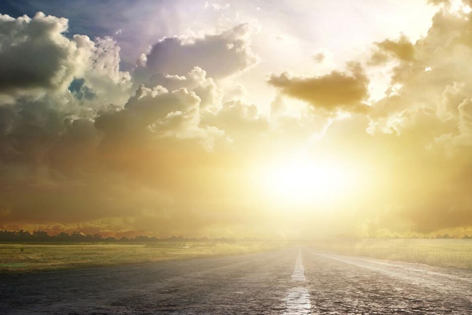 Von Sonne geblendet: Peugeot landet in Bach