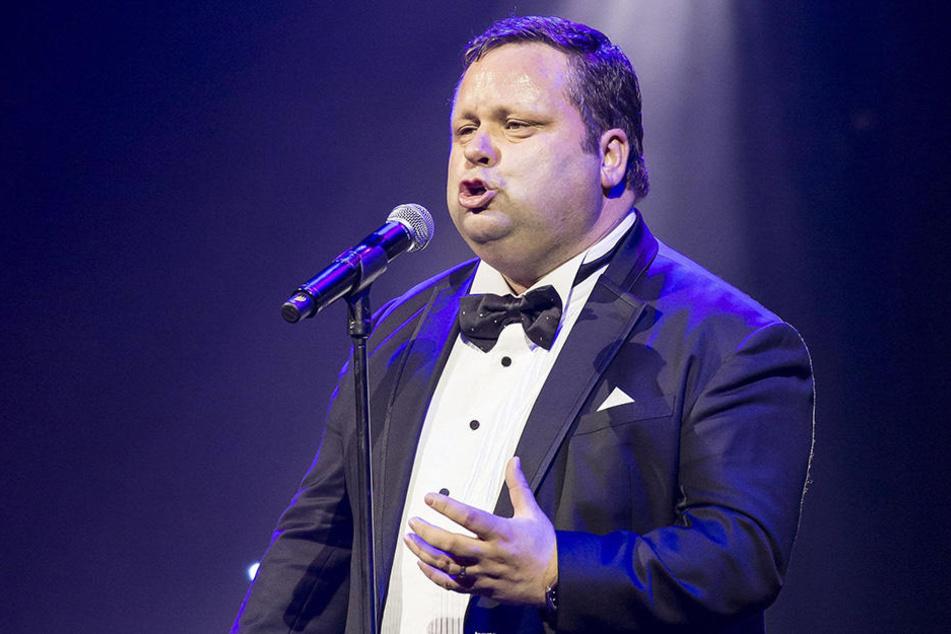 Paul Potts (46) wird am Mittwochabend seine Welthits singen.