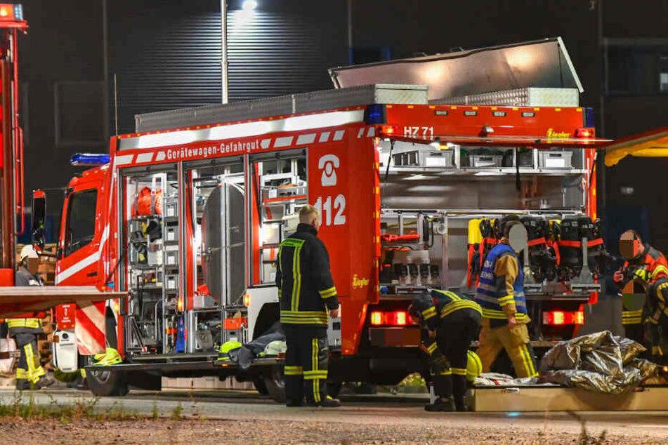 In der Nacht zu Sonntag rückte die Feuerwehr zum Großeinsatz aus.