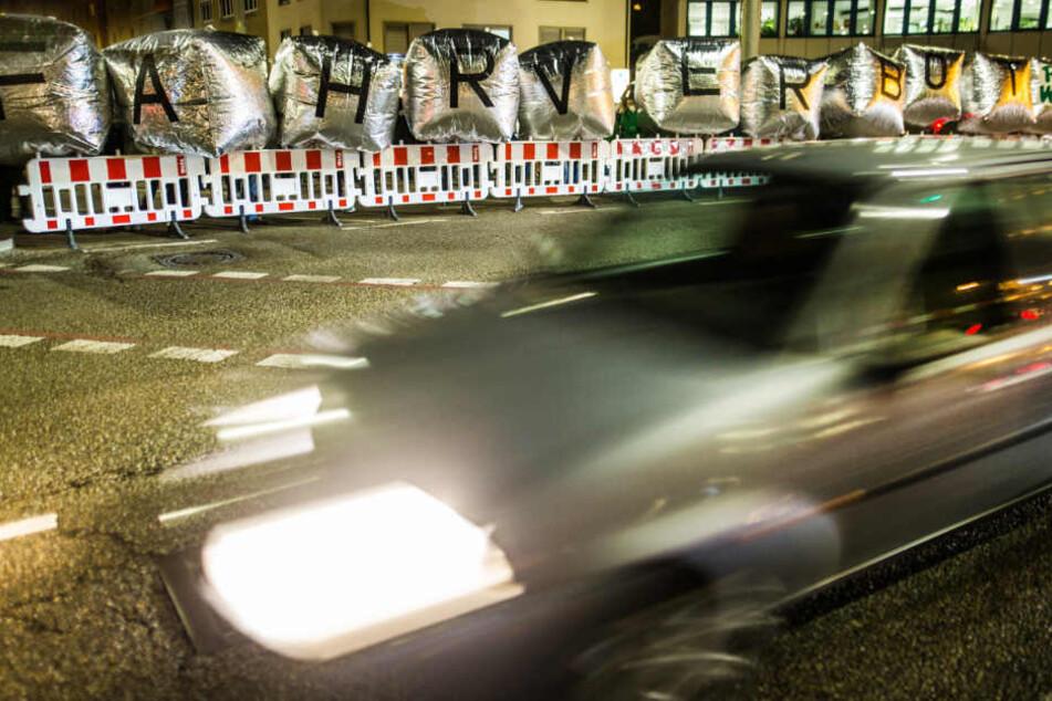 Demonstranten fordern vor wenigen Wochen ein Fahrverbot in Stuttgart.