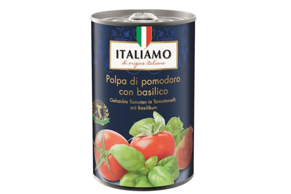 Plastikteile: Lidl ruft gehackte Tomaten zurück