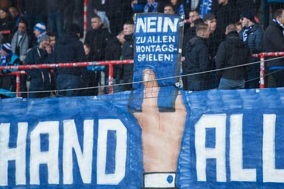 Fanprojekt beim Spiel Union Berlin gegen SV Darmstadt 98.