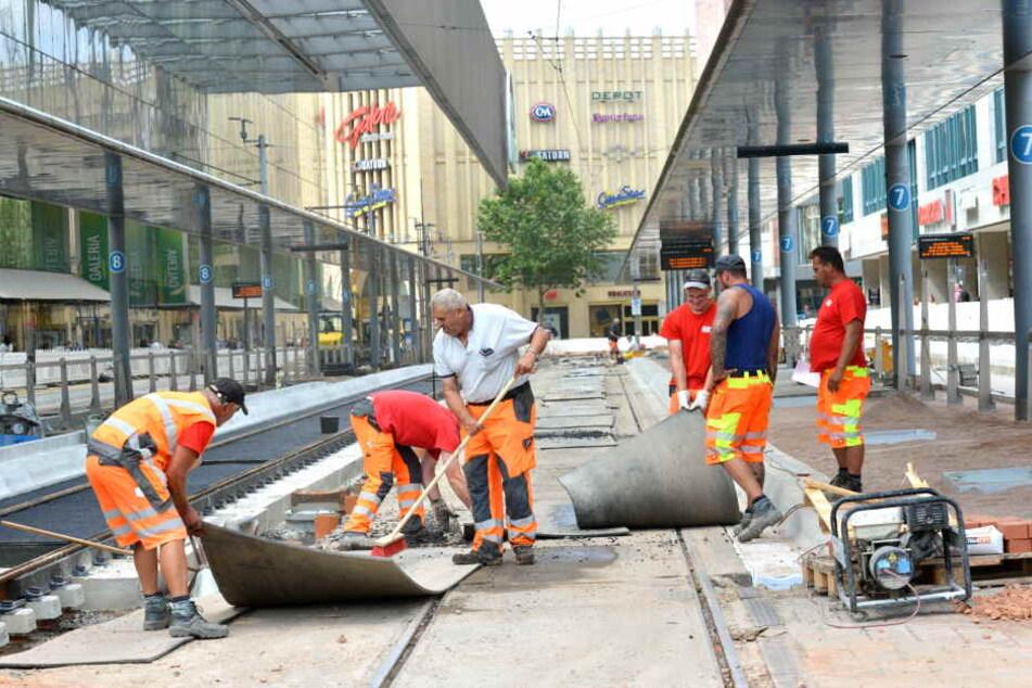 Es fehlt nur noch der Asphalt: VMS-Bausstelle fast im Endspurt
