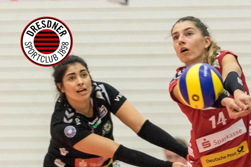 DSC-Girls mühen sich bei Kellerteam Erfurt zum 3:1-Sieg