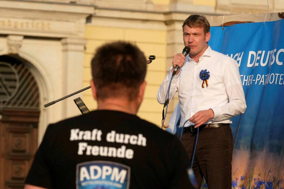 André Poggenburg kündigte eine Kundgebung vor einer der betroffenen KItas an.