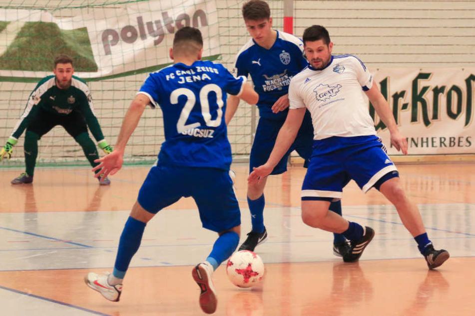 Jena setzte sich im Finale gegen einen Thüringenligisten durch.