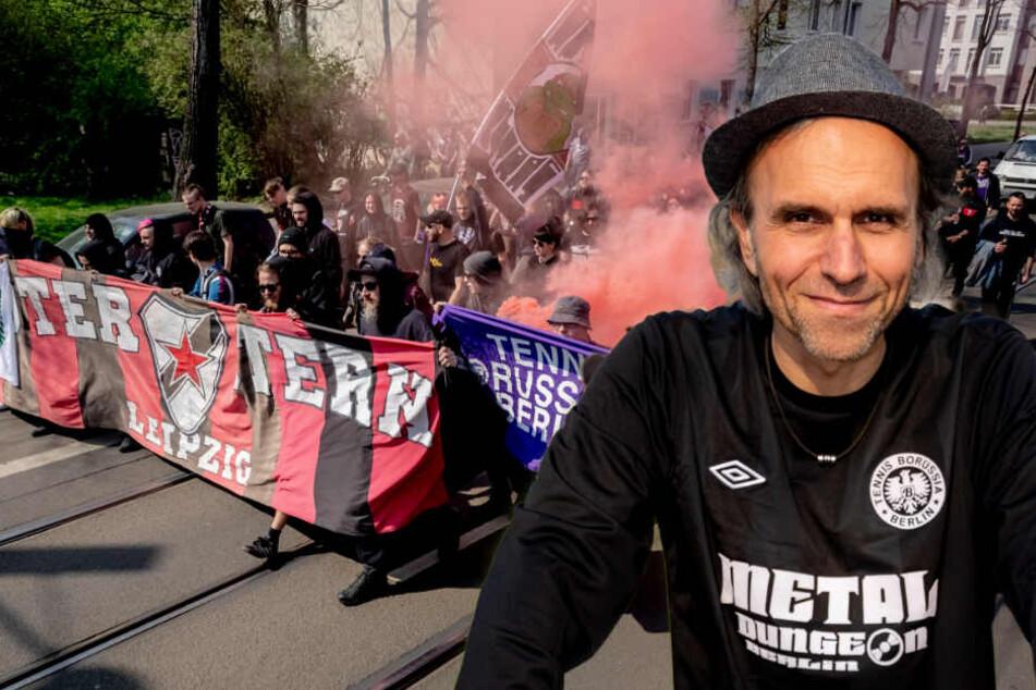 Protestaktion Aufgebrachte Tebe Fans Besuchen Roter Stern