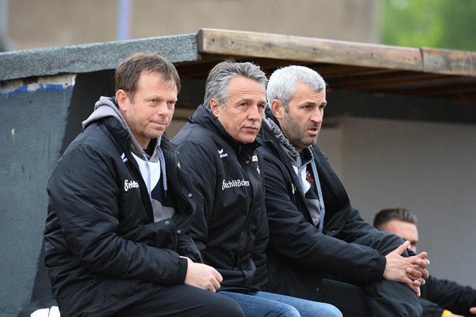 Brano Aresnovic, Uwe Neuhaus und Peter Németh bilden auch weiter ein erfolgreiches Trio.