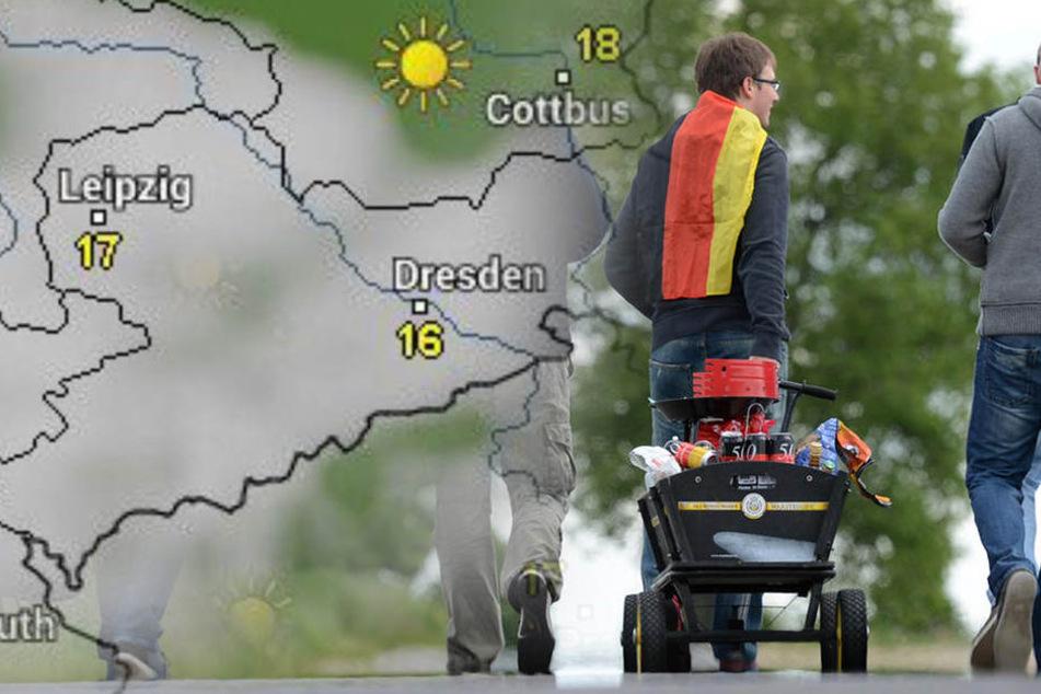 Wie wird das Wetter in Sachsen zu Himmelfahrt?