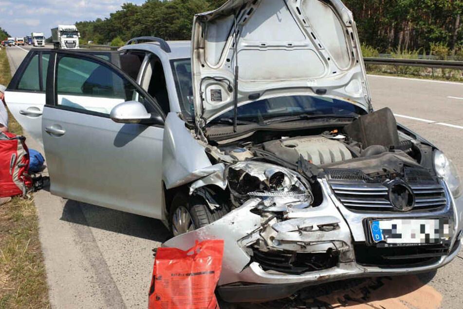 Mit Unfall aus Schlaf gerissen: Auto überschlägt sich