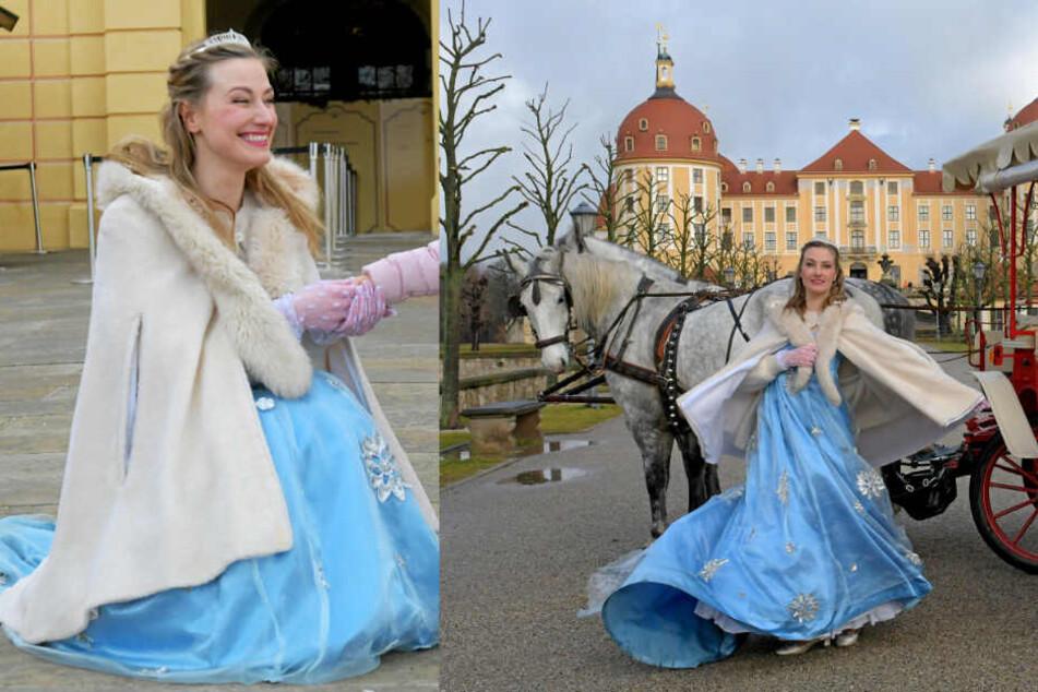 Bühne frei auf Moritzburg: Aschenbrödel zurück am originalen Filmdreh-Set