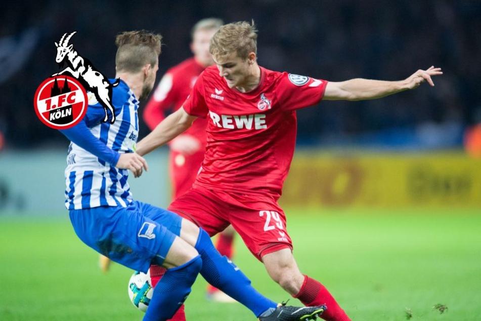 Tim Handwerker (20) bestritt bisher elf Bundesligaspiele für den 1. FC Köln (Archivbild).