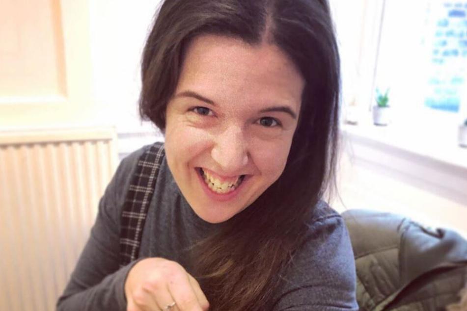 Rosie Jones auf einem Insta-Selfie.