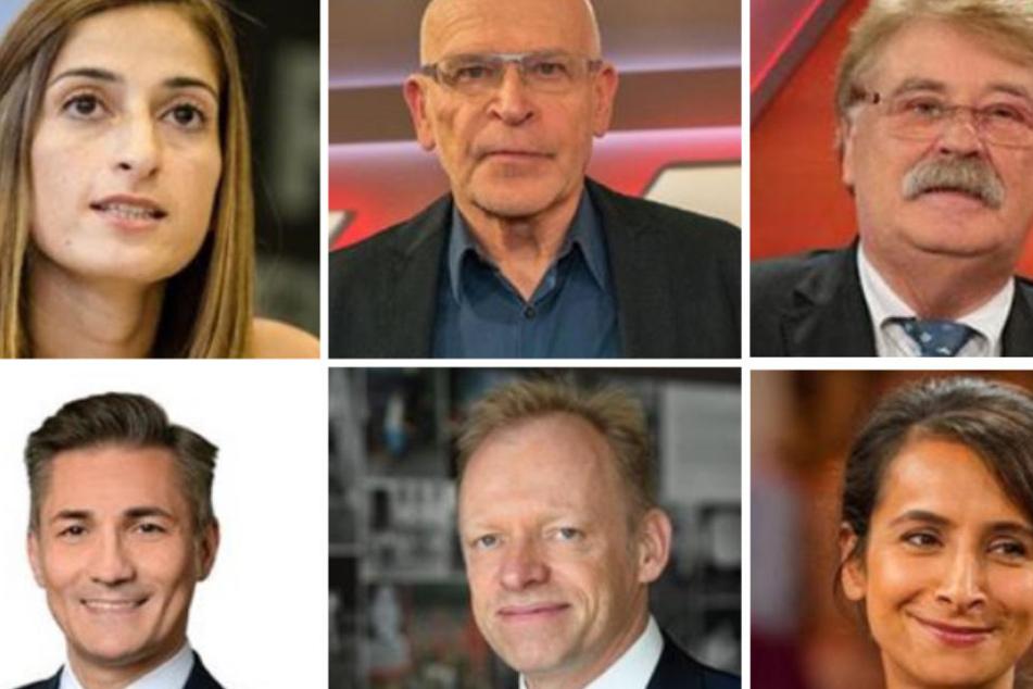 (v.l.) Mesale Tolu, Günter Wallraff, Elmar Brok, Cigdem Akyol, Erkan Arikan und Clemens Fuest.