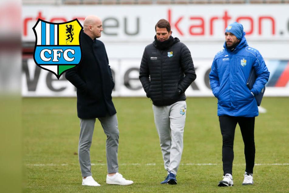 """Chemnitz: CFC-Trainer Glöckner: """"Zu riskant, zu langsam, zu viel Klein-Klein!"""""""