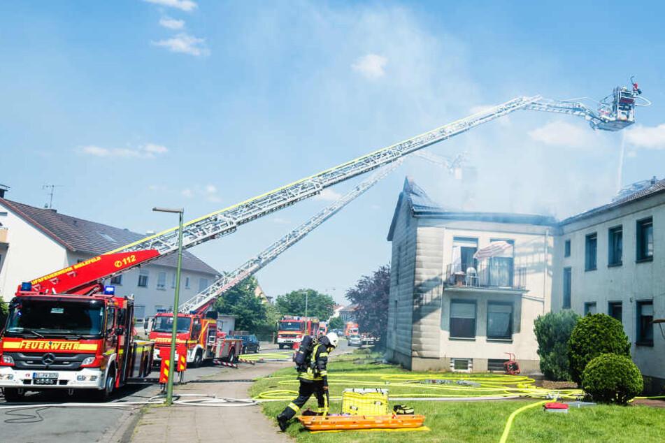 32 Bewohner standen nach dem Brand auf der Straße.