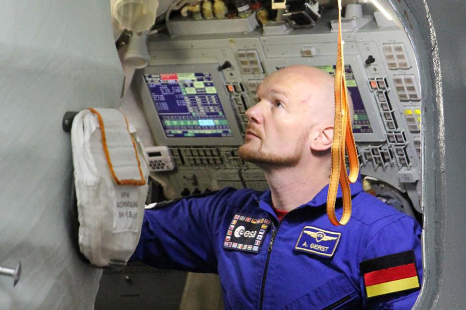 Der deutsche Astronaut Alexander Gerst bereitet sich aktuell auf die zweite ISS-Mission vor.