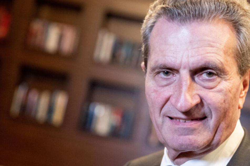 Paukenschlag: EU-Kommissar Günther Oettinger wird Politik-Berater!