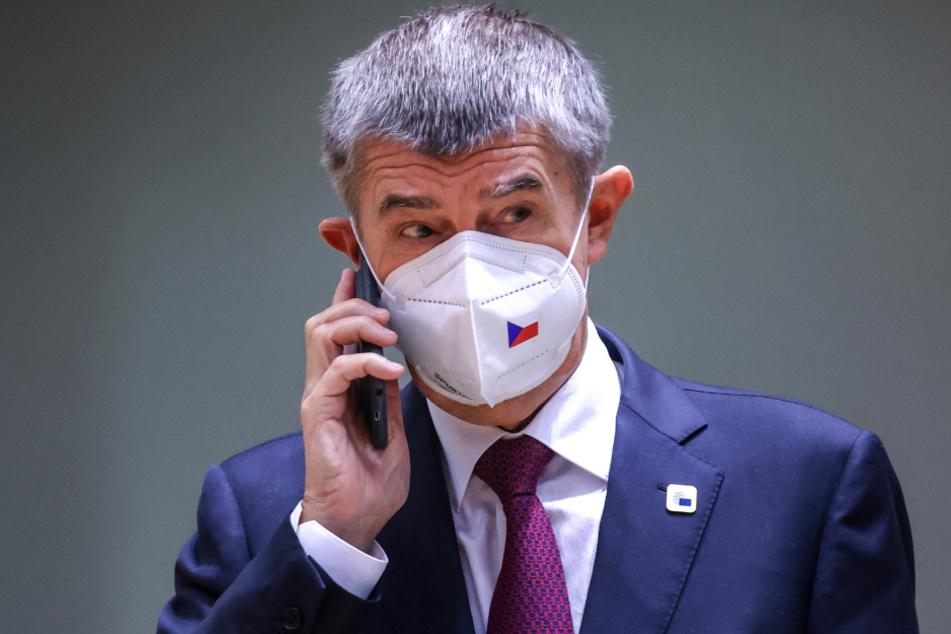 Ministerpräsident Andrej Babis (66).
