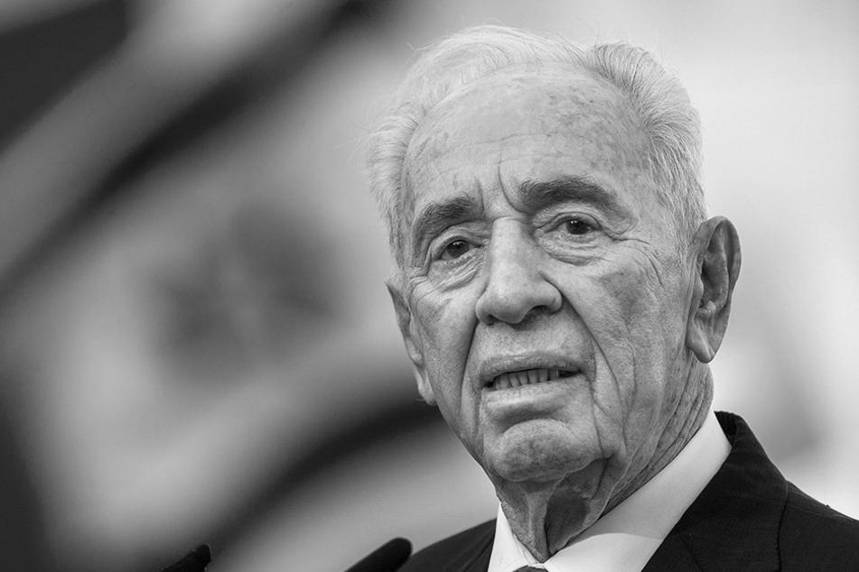 Peres starb in der Nacht zu Mittwoch an den Folgen eines Schlaganfalls.