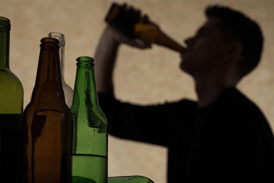 Der 39-Jährige soll Alkoholiker sein (Symbolbild).