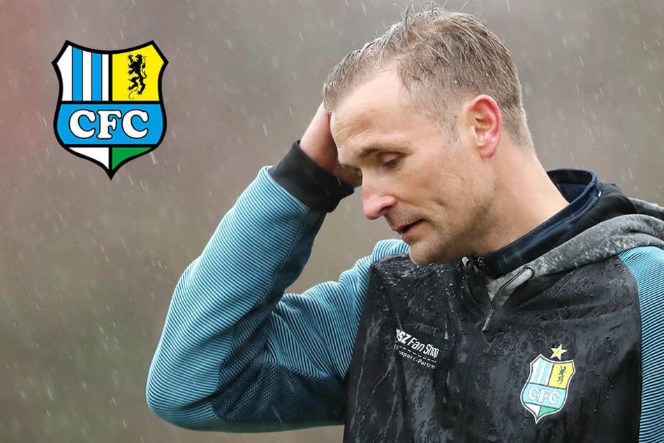 Bekommt CFC-Trainer Bergner seine Mannschaft mental wieder fit?