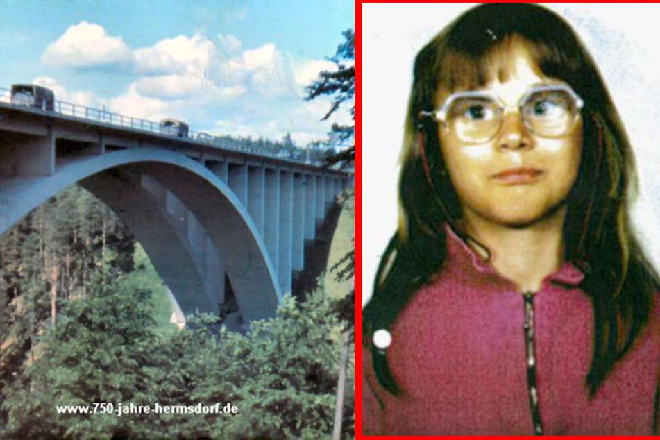 Von dieser Brücke soll die damals 10-jährige Stephanie geworfen worden sein.