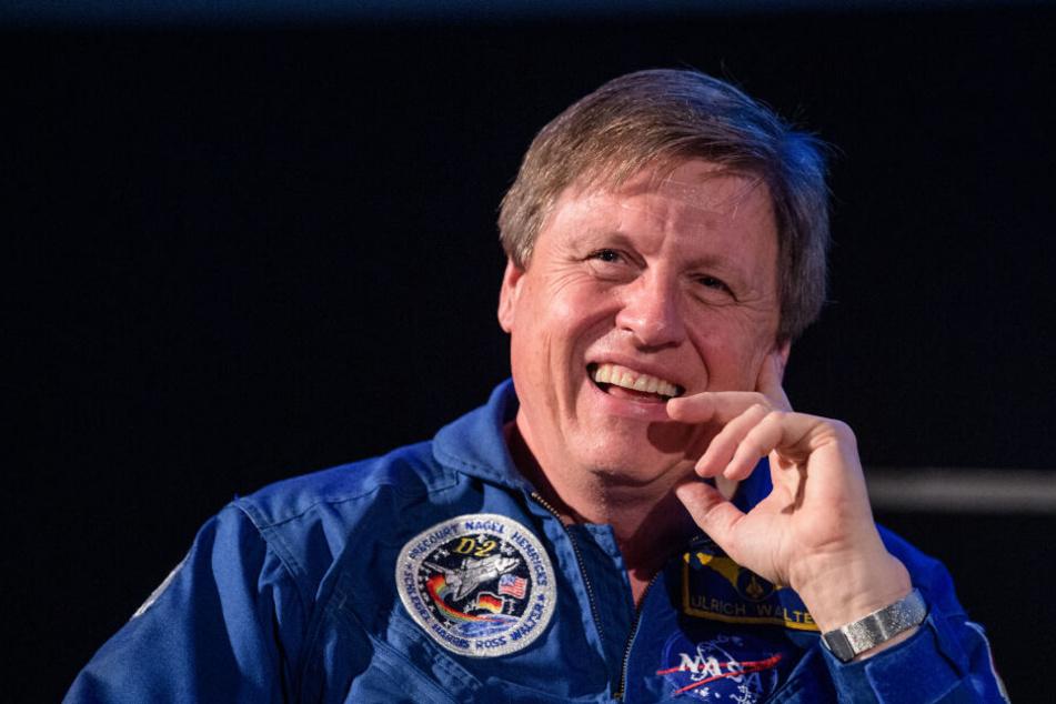 Ulrich Walter, deutscher Astronaut, nimmt zum 50. Jubiläum der Mondlandung an einer Veranstaltung im Deutschen Museum teil.