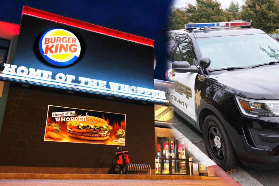 Suffi überfällt Burger King, verliert Geld auf der Flucht und säuft danach weiter